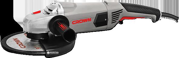 Угловая шлифмашина Crown CT13489-230S(2,6 кВт)