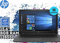 "Ноутбук HP 250 G6 15.6"" HD LED (Celeron N3350, 8GB RAM, 128 SSD, Windows 10) - Суперцена!"