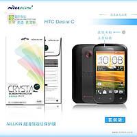Защитная пленка Nillkin для HTC Desire C глянцевая