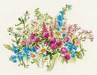 Набор для вышивки крестом Алиса 2-33 Клевер и ромашки