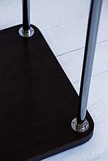 Стойка для одежды Бюс 4 (металл/дерево), фото 2