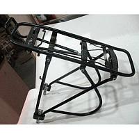 """Велосипедный багажник под сумку, алюминиевый, размер  26""""-28"""""""