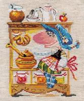 Набор для вышивки крестом Алиса 0-128 Медовая Кладовушка