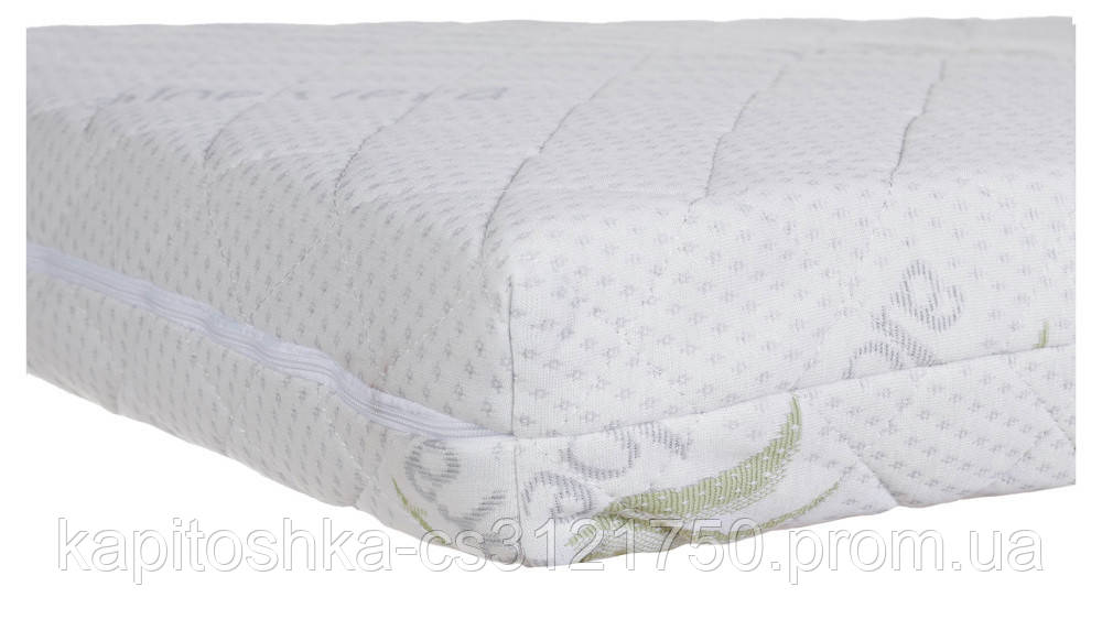 Детский матрас в кроватку Aloe Vera Comfort Elite - 10 см. (кокос, полиуретан, кокос) белый