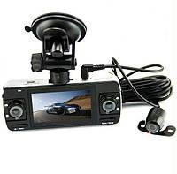 Оригинальный Видеорегистратор DVR-F80. Дисплей 6,7 см. Видеорегистратор на 3 камеры. Код:КТМТ212