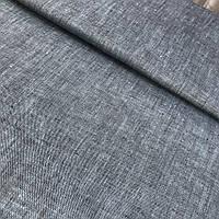 Льон джинс світлий, меланжевий костюмний, ширина 150 см, фото 1