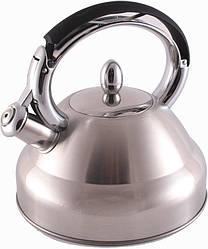 Чайник Fissman Oxford со свистком 2.7 л (FN-KT-5914_psg)