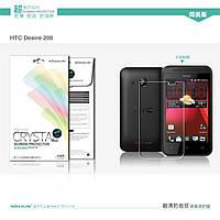 Защитная пленка Nillkin для HTC Desire 200 глянцевая