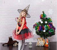 Карнавальный костюм ведьмы для девочки, фото 1