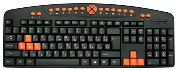 Игровая клавиатура Omega OK-27, USB чёрная