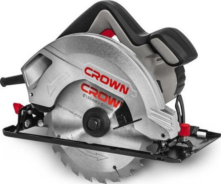 Пила дисковая  CROWN CT 15187/165