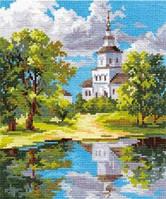 Набор для вышивки крестом Алиса 3-11 Храм у пруда