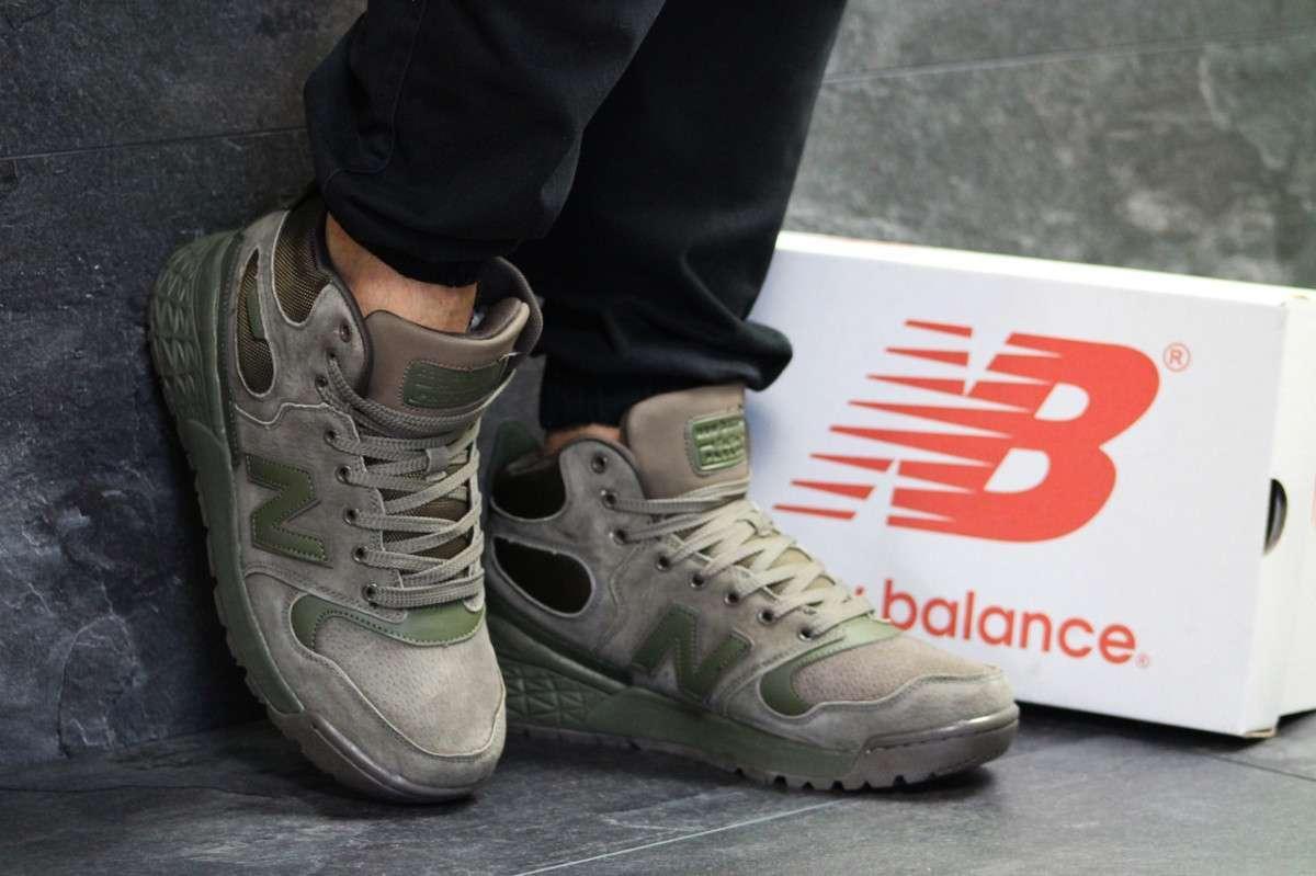 10f8310271e80c Мужские зимние кроссовки коричневые с зеленым Fresh Foam Paradox New Balance  6567