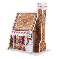 Набор для вышивки крестом Panna ИГ-1743 Новогодний домик