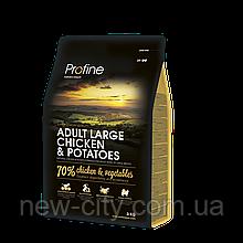 Profine Adult Large Breed Chiken Potatoes 3 kg Корм для больших собак Курица и картофель
