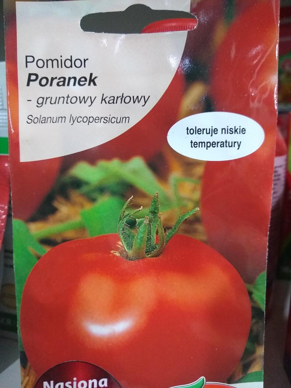 """Томат ранній, низькорослий Поранек 1 грам Польща, """"Torseed"""""""