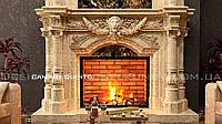 Мраморный портал камина Quinto