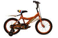 """Детский велосипед 16"""" Premier Bravo Orange"""
