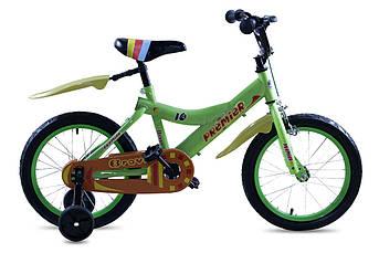 "Детский велосипед 16"" Premier Bravo Lime"