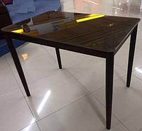 Обеденный нераскладной стол из стекла DST-09 1000*650*760