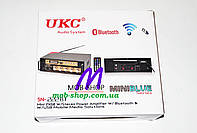 Усилитель звука UKC SN-222BT USB+SD+FM+Bluetooth, фото 4