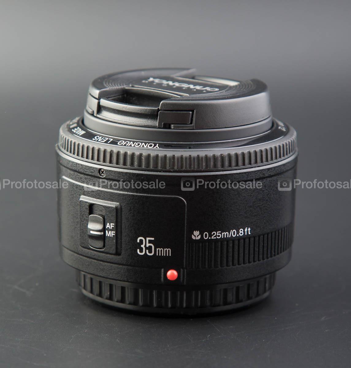 Объектив Yongnuo 35mm f/2 для Canon