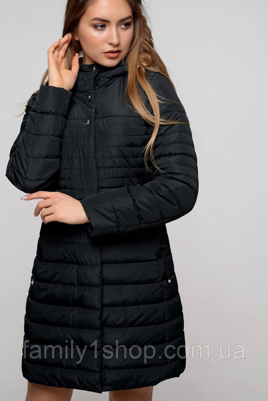 8acaddc160d Удлиненная женская демисезонная куртка.