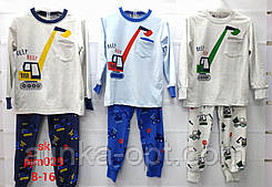 Пижама для мальчиков Setty Koop оптом, 8-16 лет.