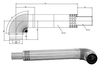 Турбированная газовая колонка Termaxi JSG-20R Turbo белая, фото 2