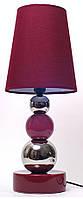 Настольная лампа с абажуром, 23x23x57см.