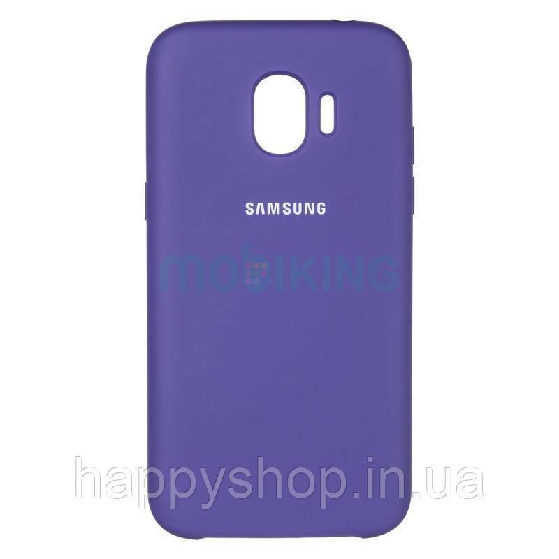 Оригинальный чехол Soft touch для Samsung Galaxy J6 Plus 2018 (J610) Violet