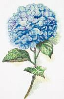 Набор для вышивки крестом Panna Ц-1988 Голубая гортензия