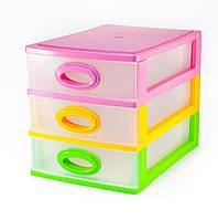 Миникомод Консенсус 3 ящика Разноцветный (100013)