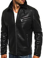 Мужские куртки из кожзама в Украине. Сравнить цены 5adc1b4533ca6