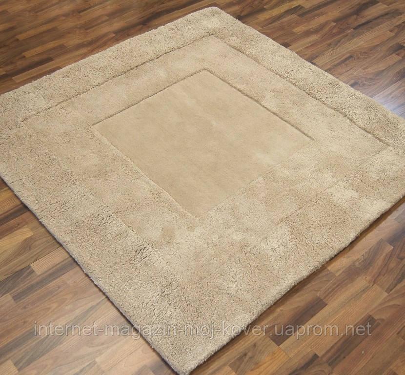 Однотонные шерстяные ковры ручной работы