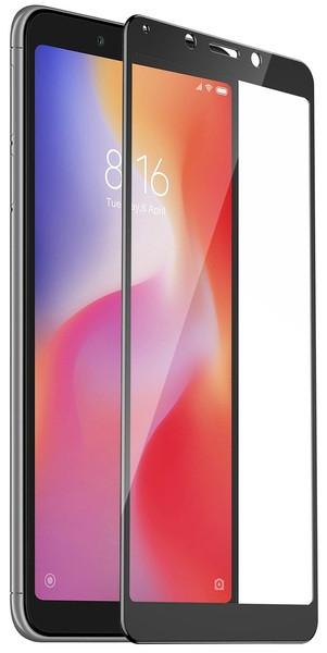 Защитное стекло T-PHOX для Xiaomi Redmi 6, Xiaomi Redmi 6A Full Cover, Full Glue чёрное