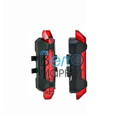 Мигалка велосипедная задняя RAPID X (Красный свет) USB (ЮСБ)