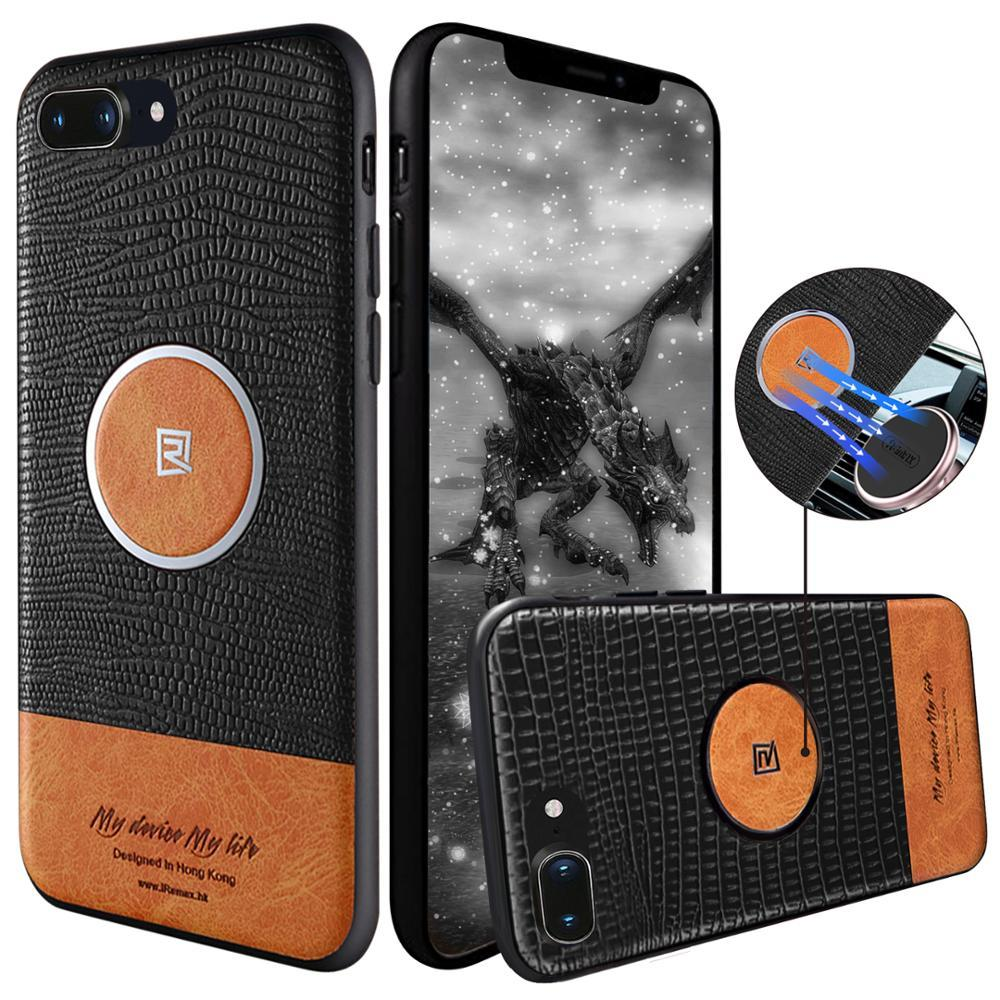 Чехол Remax Magnetic Series Case for iPhone 7/8 Plus, Black