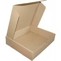 Самосборная картонная коробка - 150 × 150 × 60 - бурая