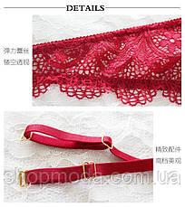 Эротический комплект женского белья. Кружевное белье женское, фото 3