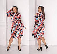 Платье  женское батал   Миранда, фото 1