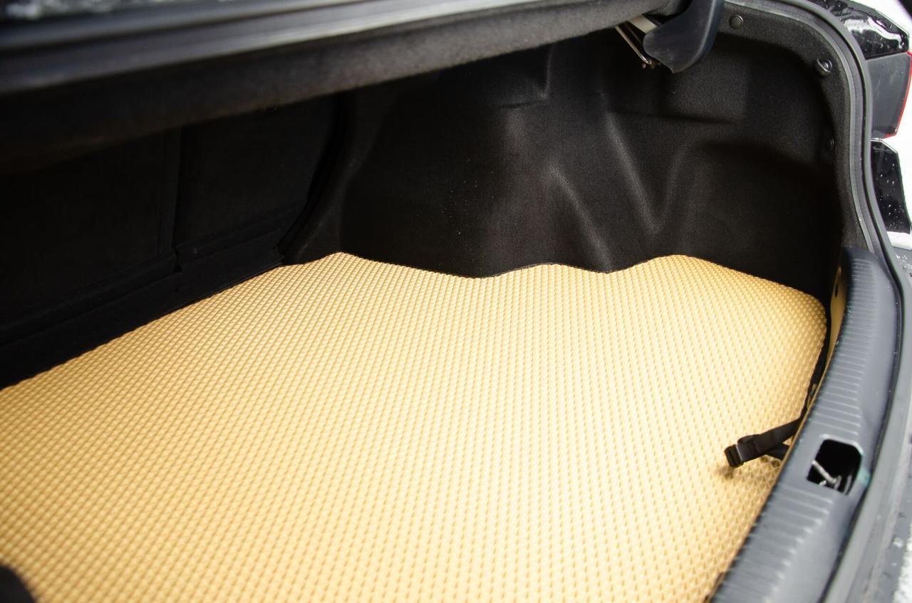 """Автоковрики ЭВА от ТМ """"EvaKovrik"""" для Toyota Higlander II (2008-2014) Багажник Рестайлинг"""