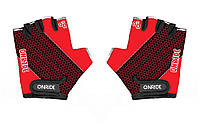 Перчатки детские Onride Gem красный / черный возраст 3-4 лет