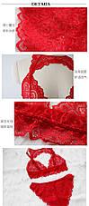 Эротический комплект Сексуальное белье Кружевное белье женское, фото 2