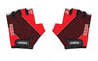 Перчатки детские Onride Gem красный / черный возраст 7-8 лет
