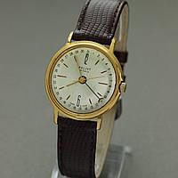 Poljot Полет Космос позолоченные часы СССР , фото 1