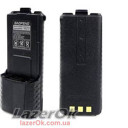 Аккумулятор повышенной ёмкости 3800 mAh BL-5L для рации Baofeng UV-5R и др...