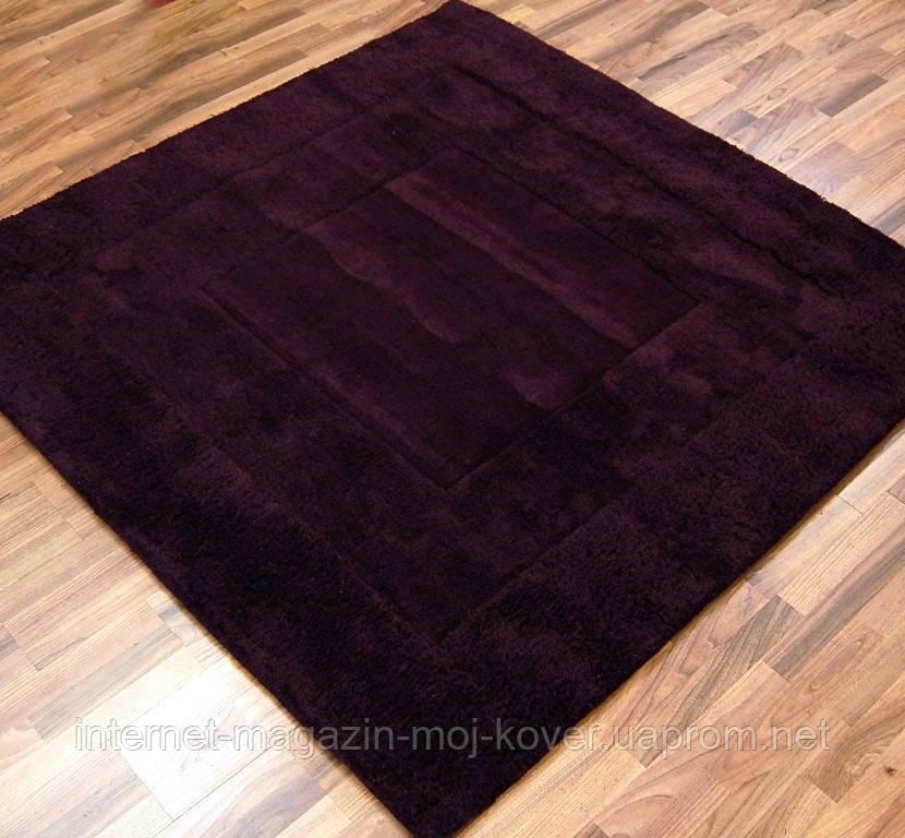 Однотонные шерстяные ковры