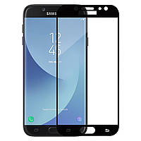 Защитное стекло MakeFuture для Samsung Galaxy J7 2017 J730F (full glue) Black