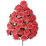 Букет искусственная роза, 47см от 1 шт, фото 3